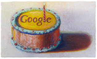 Google fte son 12me anniversaire