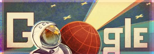 Doodle de Youri Gagarine