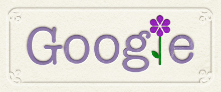 Google Logo: Happy mothers day in France !