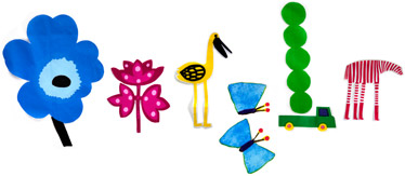 Premier jour du printemps. Design de Marimekko