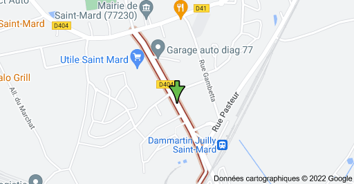 Avenue de la Gare, 77230 Saint-Mard