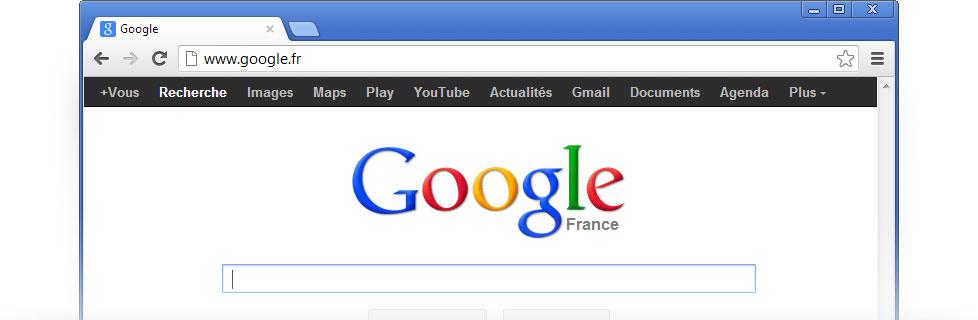 Définissez Google comme page d'accueil – Google
