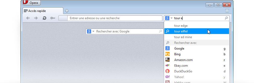 13 nov. 2010 ... Comme vous le savez sans doute, la barre d'adresses de Chrome est aussi ...  Évidemment, Google est le moteur de recherche par défaut.