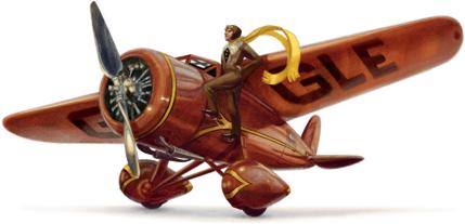 Amelia EarHart Doodle 24 07 2012