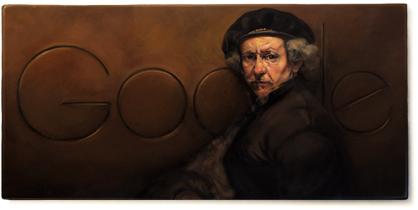 407ème anniversaire de Rembrandt van Rijn