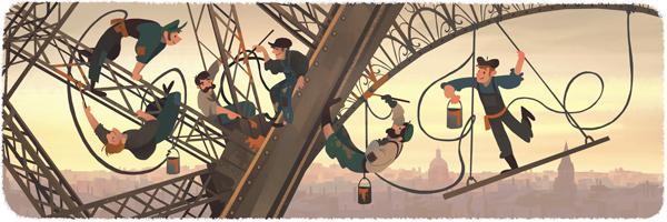 126e anniversaire de l'ouverture de la tour Eiffel