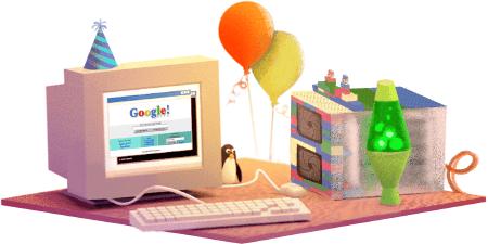 17e anniversaire de Google
