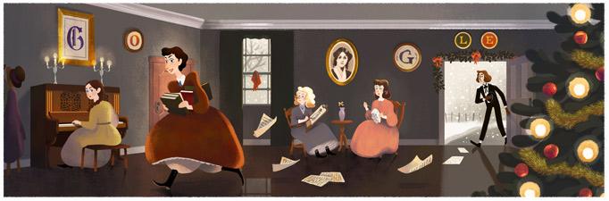 Logo google - Page 8 Louisa-may-alcotts-184th-birthday-5111070415912960-hp