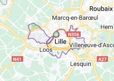 Lille France: carte
