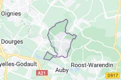 Leforest France: carte