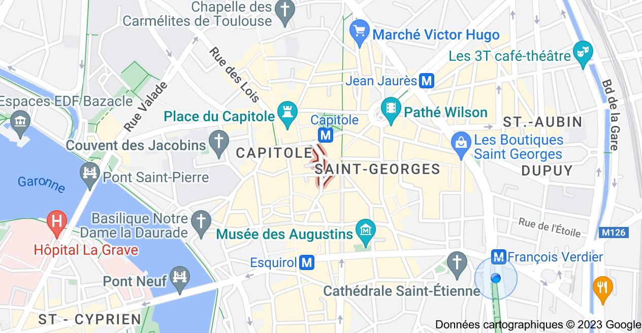 Boutiques Rue Saint-Pantaléon Toulouse