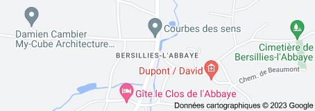Bersillies-l'Abbaye Belgique: carte
