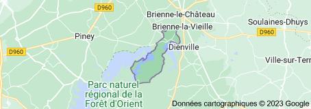 Radonvilliers France: carte