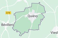 Quiévy France: carte
