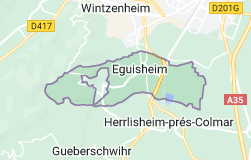 Eguisheim France: carte