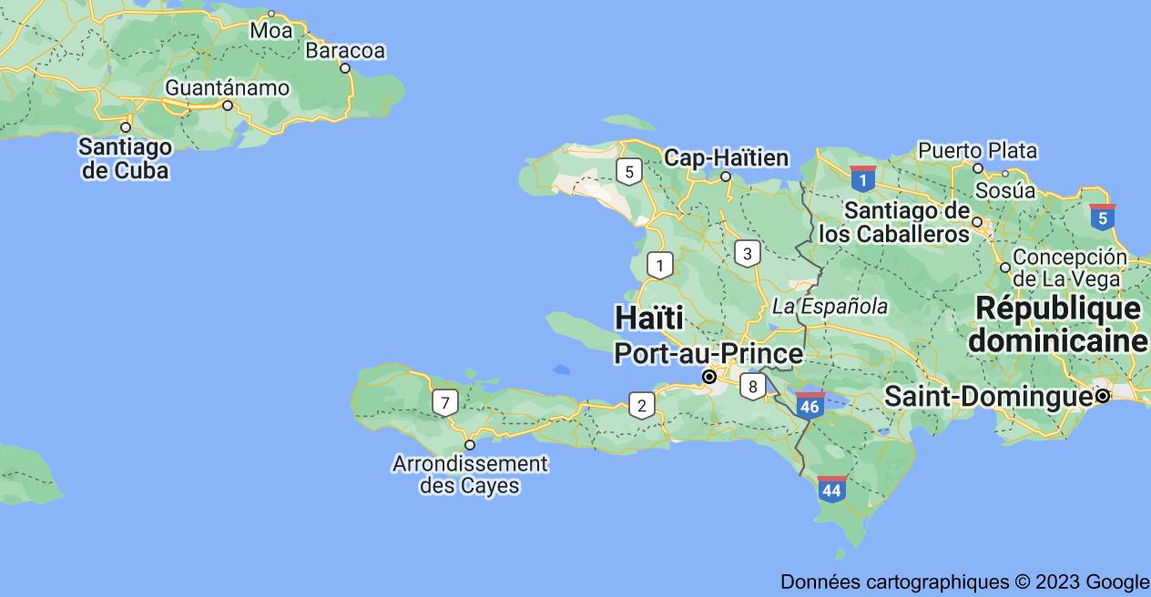 Haïti: carte