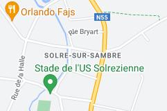 Solre-sur-Sambre: carte