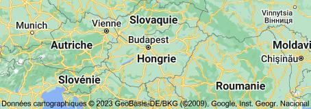 Hongrie: carte
