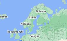 Suède: carte