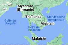 Thaïlande: carte