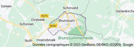 Brunssum Pays-Bas: carte