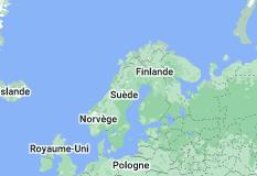 Norvège: carte