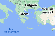 Grèce: carte