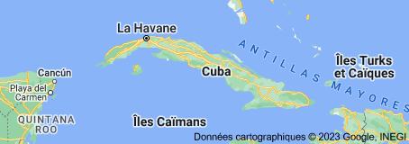 Cuba: carte