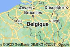 Belgique: carte