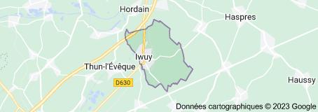Iwuy France: carte
