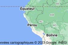 Pérou: carte