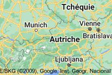 Autriche: carte