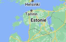 Estonie: carte