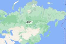 Russie: carte