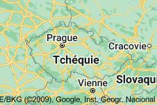 République tchèque: carte