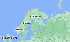 Finlande: carte