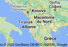 Albanie: carte