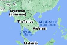 Vietnam: carte
