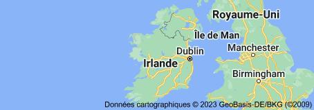 Irlande: carte