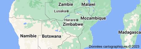 Zimbabwe: carte