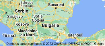 Bulgarie: carte