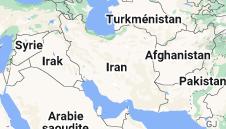 Iran: carte