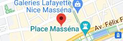 Map of Jach restaurant