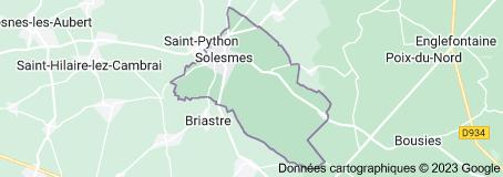 Solesmes France: carte