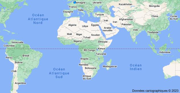 Afrique: carte