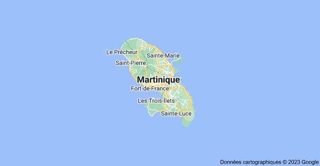 Martinique: carte