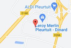 Leroy Merlin Dinard - Pleurtuit: carte