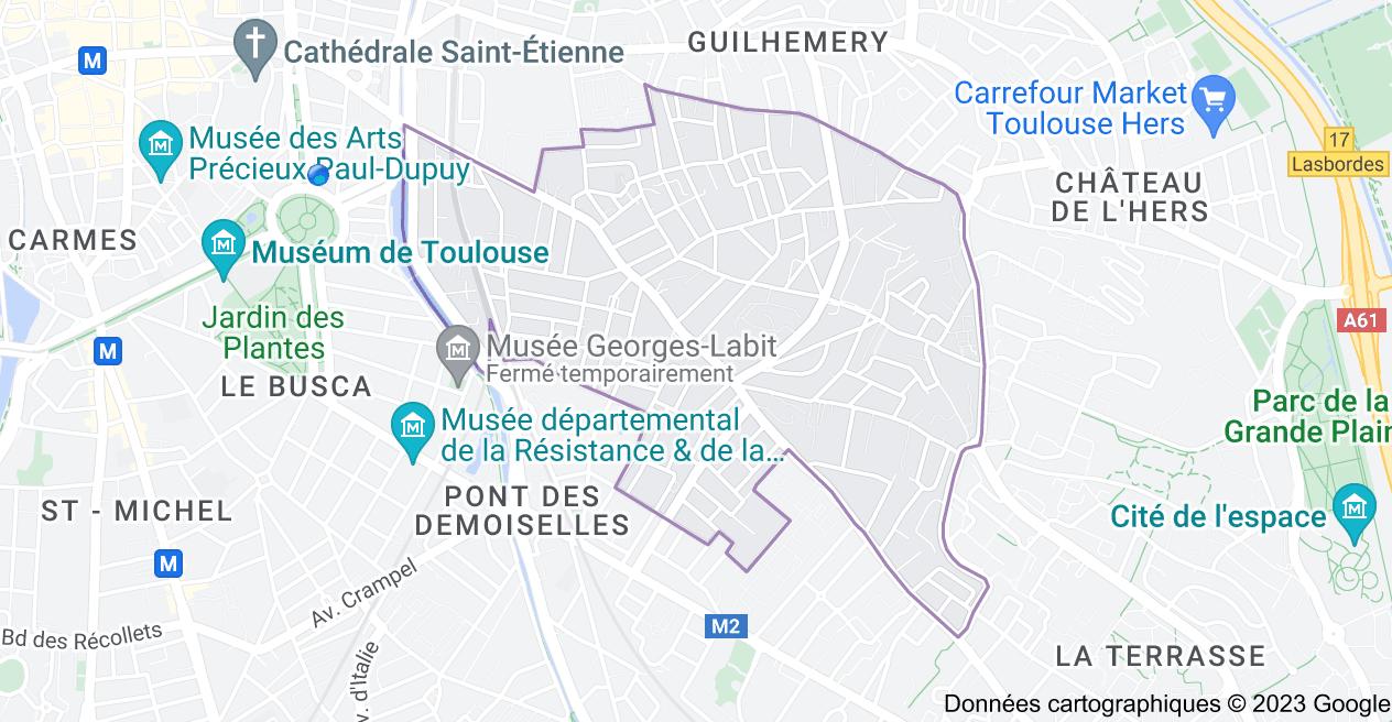 Côte Pavée Toulouse