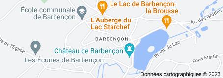 Barbençon Belgique: carte