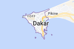Dakar: carte